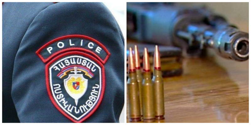 Քաղաքացին հանձնել է  հայ-ադրբեջանական հակամարտության ժամանակ ձեռք բերված զենքերը