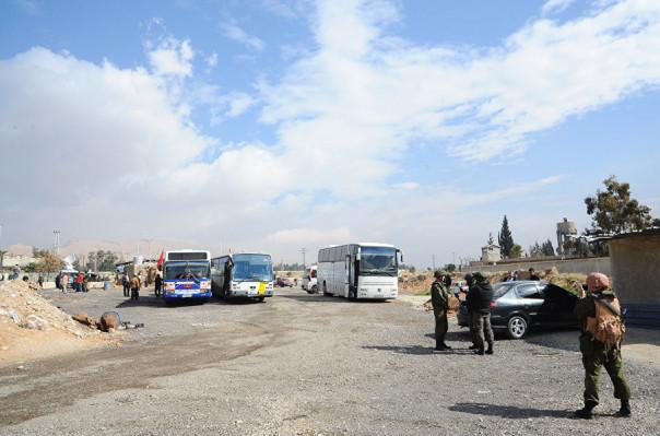 Ապստամբ ջոկատները հեռանում են Սիրիայի Արևելյան Ղուտա շրջանից