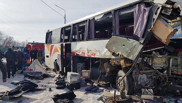Երևան-Մոսկվա երթուղու ավտոբուսը ՌԴ-ում բախվել է բեռնատարի. կան զոհեր և տուժածներ