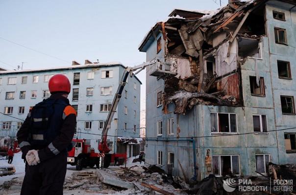 Մուրմանսկում բնակելի շենքի հարկերի փլուզման հետևանքով զոհերի թիվը հասել է երկուսի