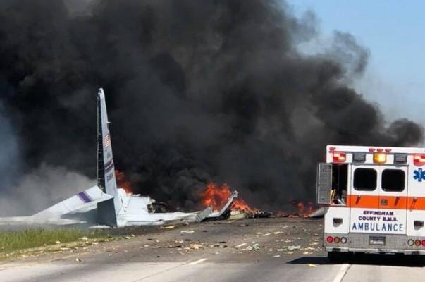 Ամերիկյան ռազմական ինքնաթիռ է կործանվել Ջորջիա նահանգում. կան զոհեր