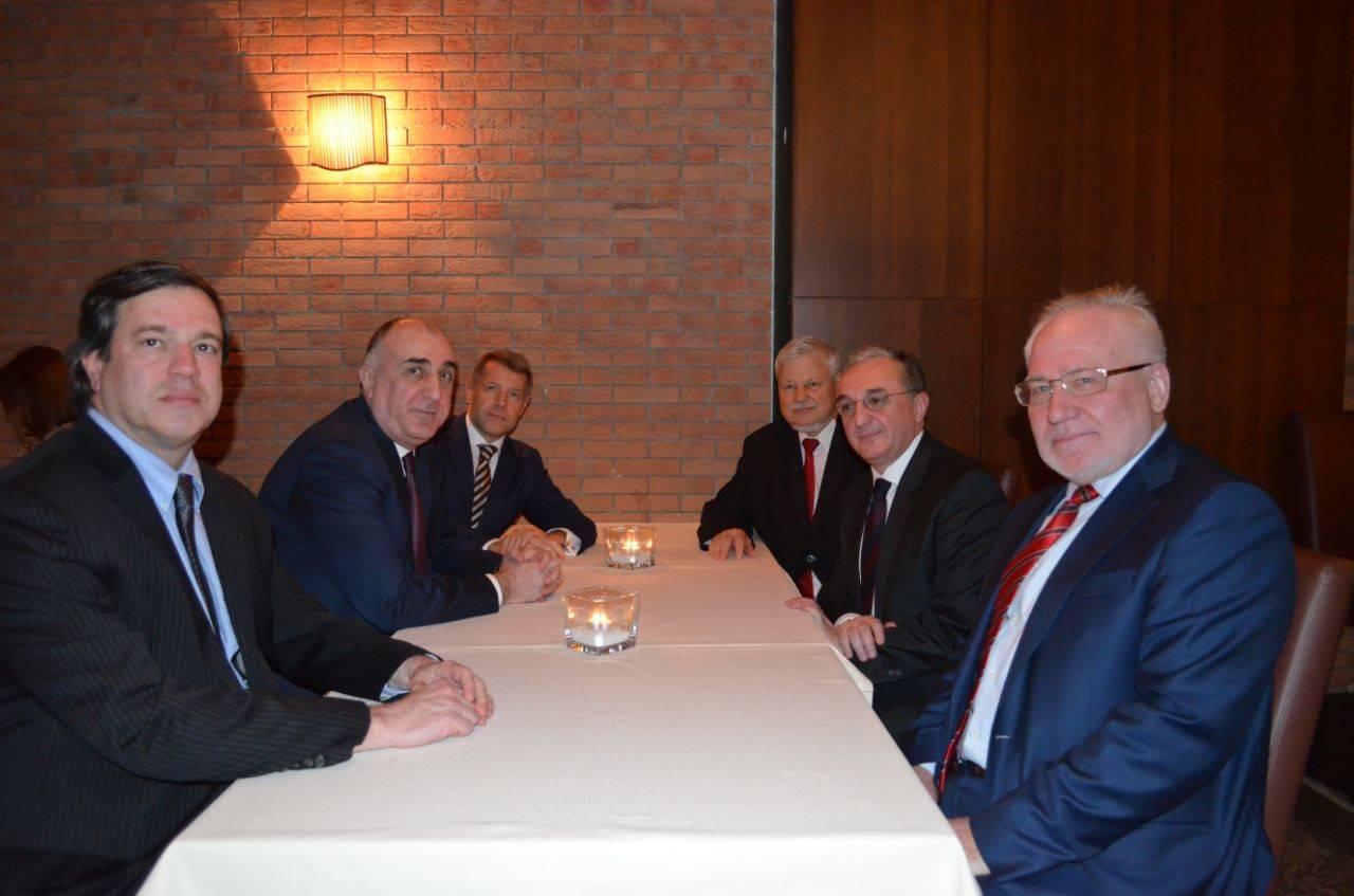Հայաստանի և Ադրբեջանի արտգործնախարարները հանդիպել են