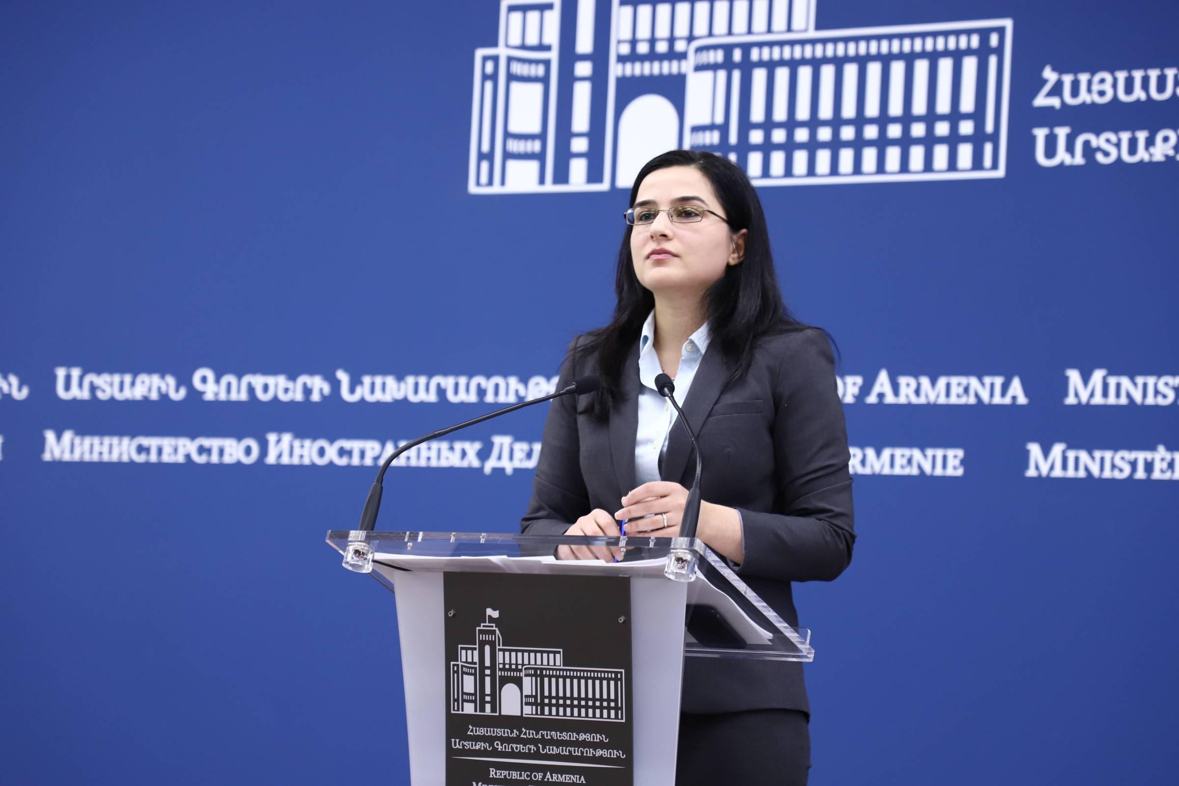Ստիպված ենք արձանագրել, որ Ադրբեջանի նախագահի խոսքում որևէ նոր բան չկար. Աննա Նաղդալյան