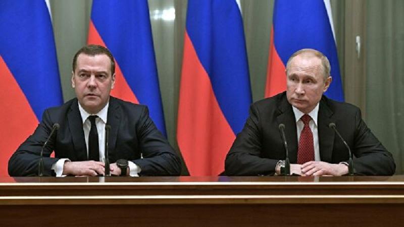 Պուտինը Մեդվեդևին նշանակել է Անվտանգության խորհրդի փոխնախագահի պաշտոնում