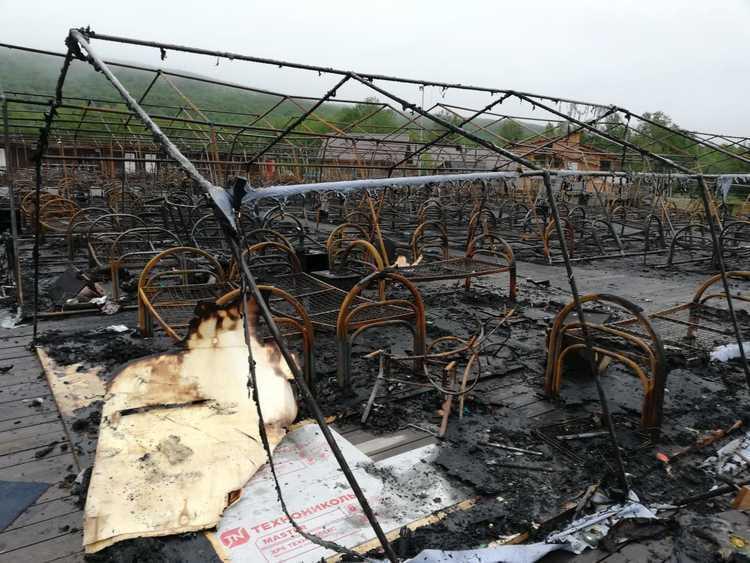 Ռուսաստանում վրանային ճամբարում բռնկված հրդեհի հետևանքով զոհվել է 4 երեխա