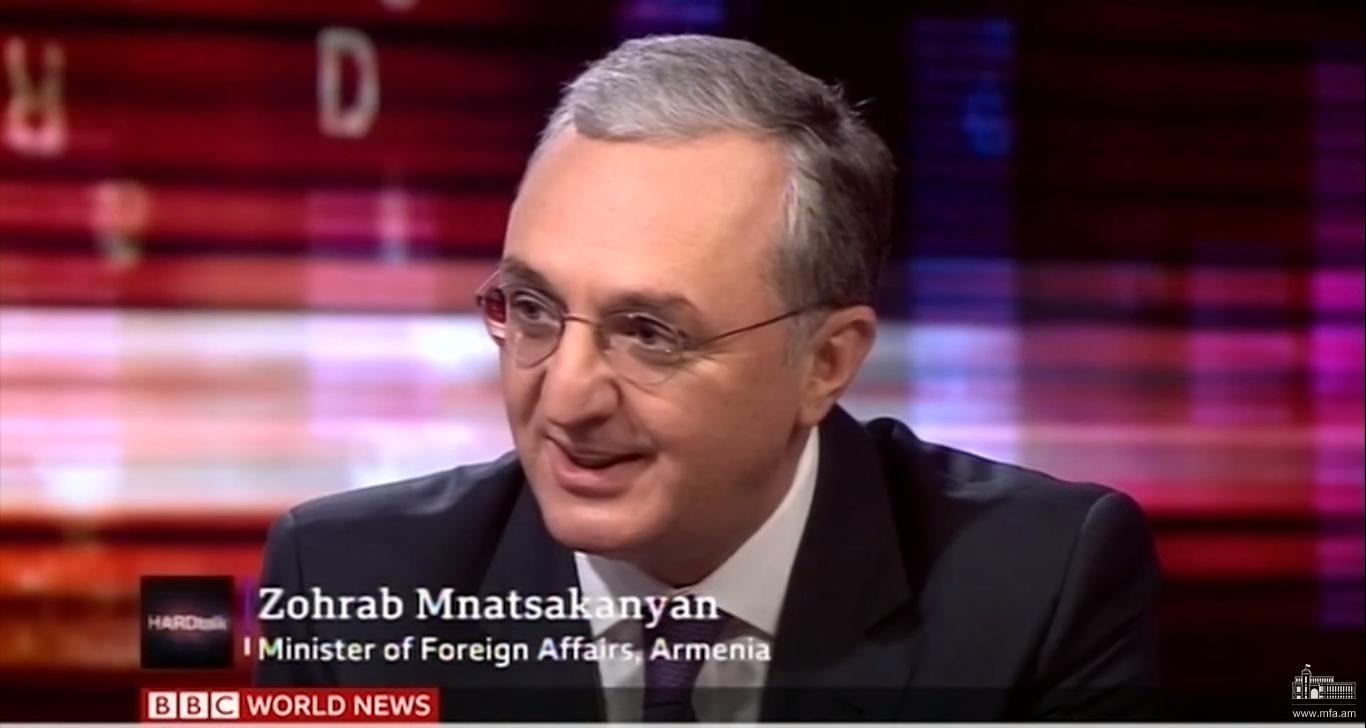 Հայաստանը հետապնդում է զարգացման օրակարգ, եւ չի կարող դուրս թողնել Արցախի ժողովրդին. ԱԳ նախարար