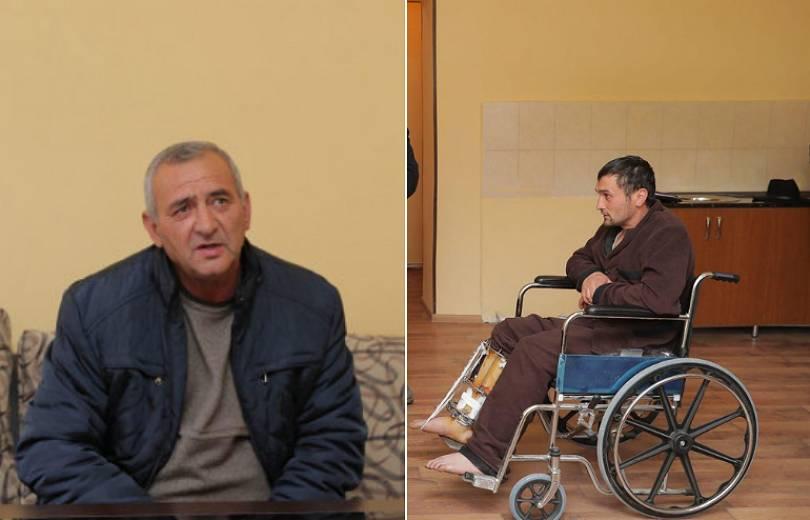 Ադրբեջանում ազատազրկման դատապարտված Կարեն Ղազարյանի հայրն այցելել է ադրբեջանցի սահմանախախտին