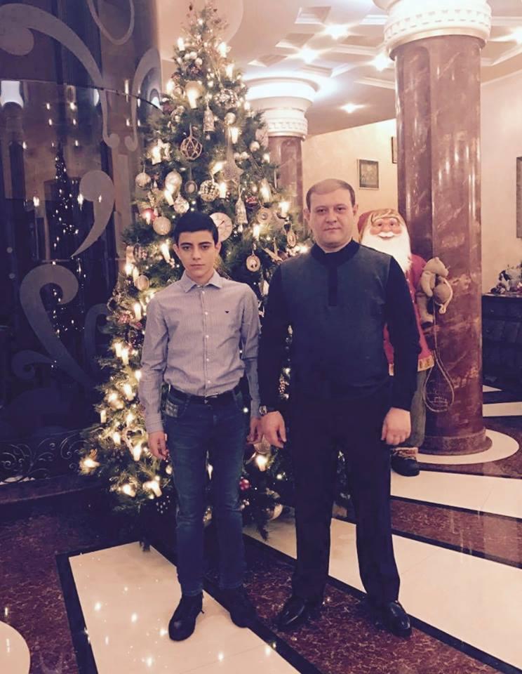 Ընտանեկան ամենաջերմ տոնը համընկնում է որդիներիցս մեկի` Անդրանիկի, ծննդյան օրվա հետ