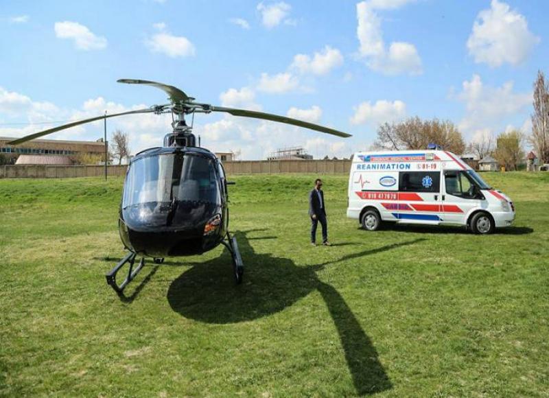 Հայաստանը տարածաշրջանում առաջինն է գործարկում շտապ բուժօգնության ուղղաթիռ