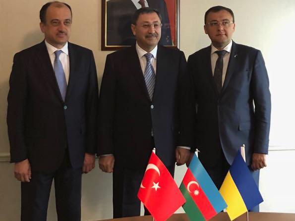 Թուրքիան, Ադրբեջանը և Ուկրաինան ուժեղացնում են եռակողմ համագործակցությունը