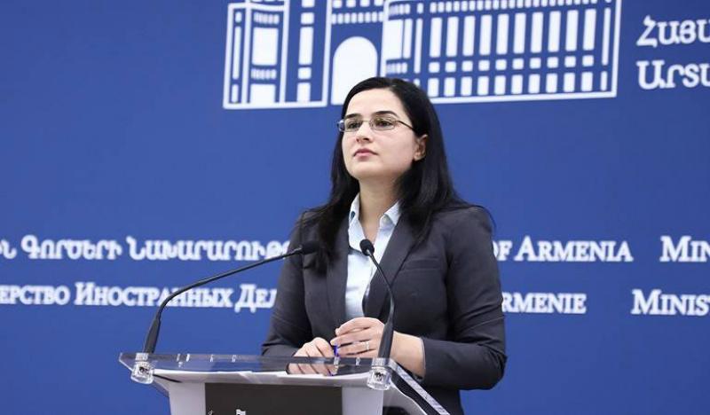 Ադրբեջանը դարձյալ խախտել է պարտավորությունները ԵԱՀԿ-ի առջեւ. ԱԳՆ խոսնակ