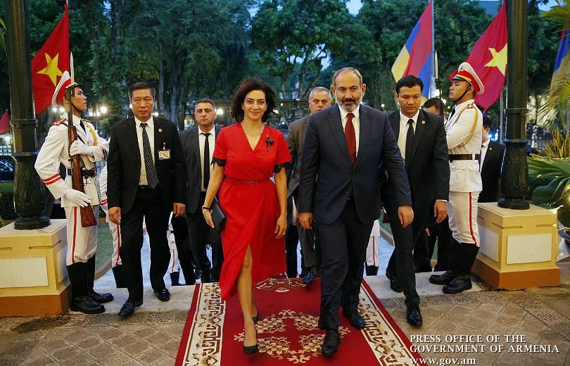 Տպավորված ենք Վիետնամի վարչապետի եւ նրա տիկնոջ ջերմ ընդունելությունից. Աննա Հակոբյան