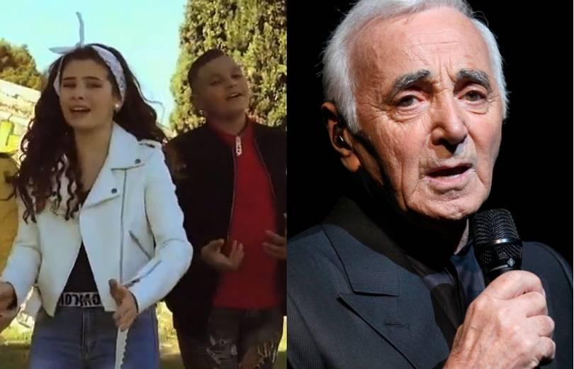 Ֆրանսիացի երեխաները, ի պատիվ Հայաստանի ու Ազնավուրի, նոր ձեւով են կատարել Pour toi Arménie երգը (տեսանյութ)