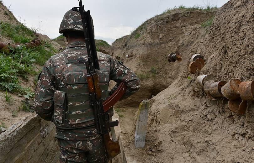 Սահմանամերձ Կոթի բնակավայրում զինծառայող է վիրավորվել