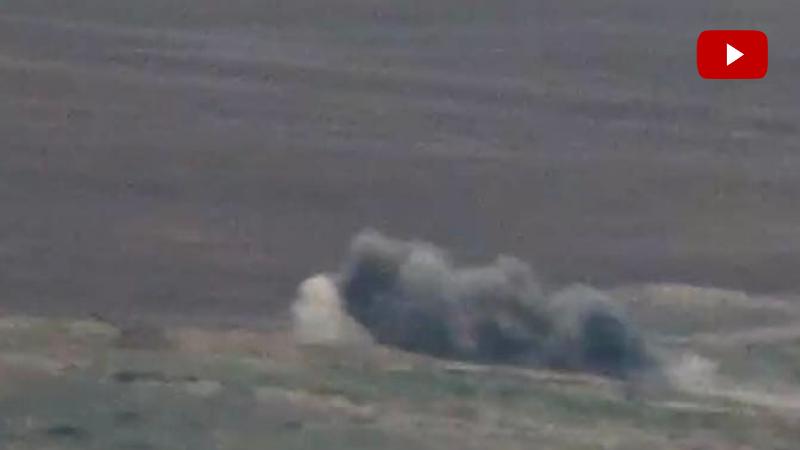 Ադրբեջանական զինտեխնիկայի հերթական խոցումները. ՊՆ (տեսանյութ)