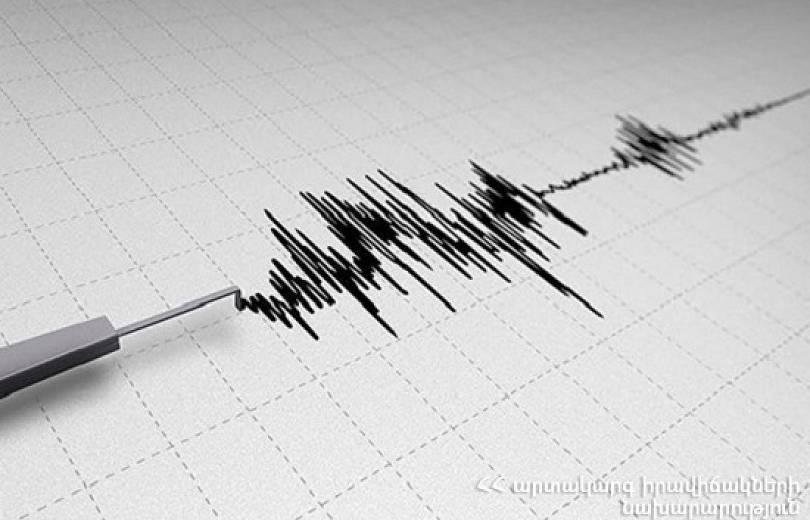Քիչ առաջ տեղի ունեցած երկրաշարժի ուժգնությունն էպիկենտրոնում կազմել է 6-7 բալ. պաշտոնական