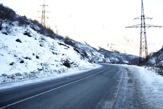 Գորիս-Երևան ավտոճանապարհին ձյուն է տեղում