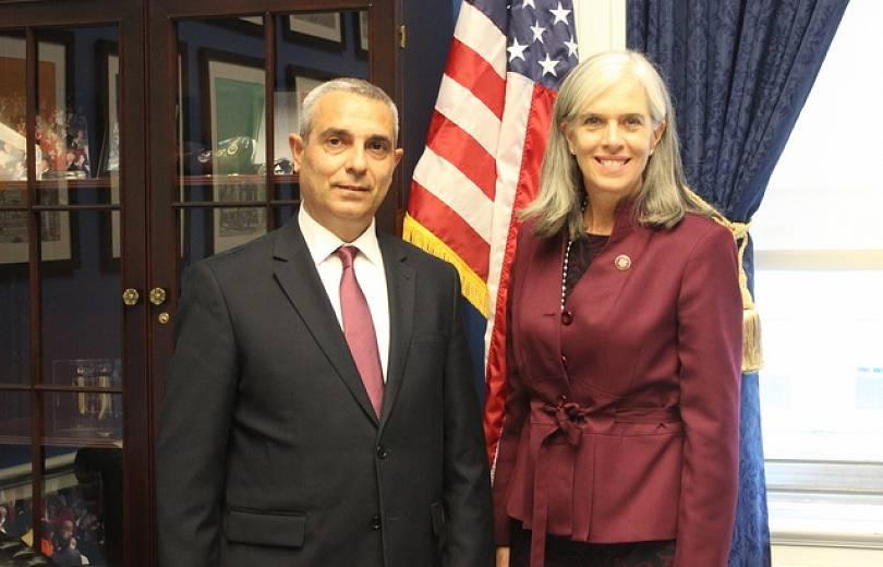 Արցախի ԱԳ նախարարը հանդիպումներ է ունեցել ԱՄՆ կոնգրեսականների հետ
