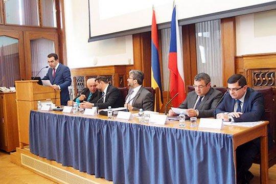 Պրահայում կայացել է հայ-չեխական գործարար համաժողով և միջկառավարական հանձնաժողովի նիստ