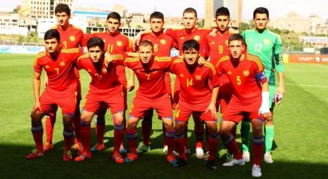 U19, Էստոնիա-Հայաստան՝ 2:0