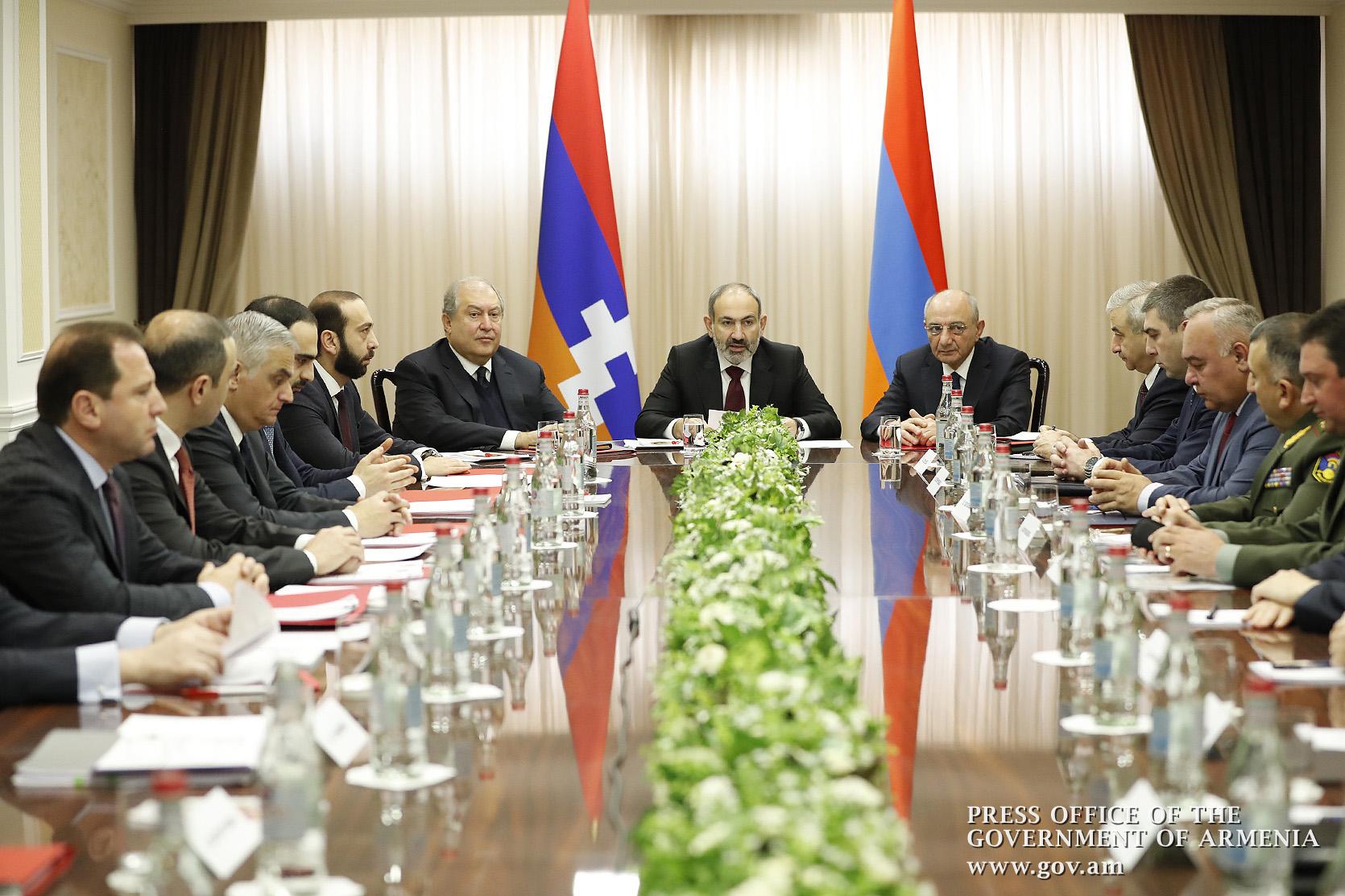 Ի՞նչ է քննարկվել Հայաստանի և Աչցախի անվտանգության խորհուրդների նիստի ժամանակ. մանրամասներ. «Հրապարակ»