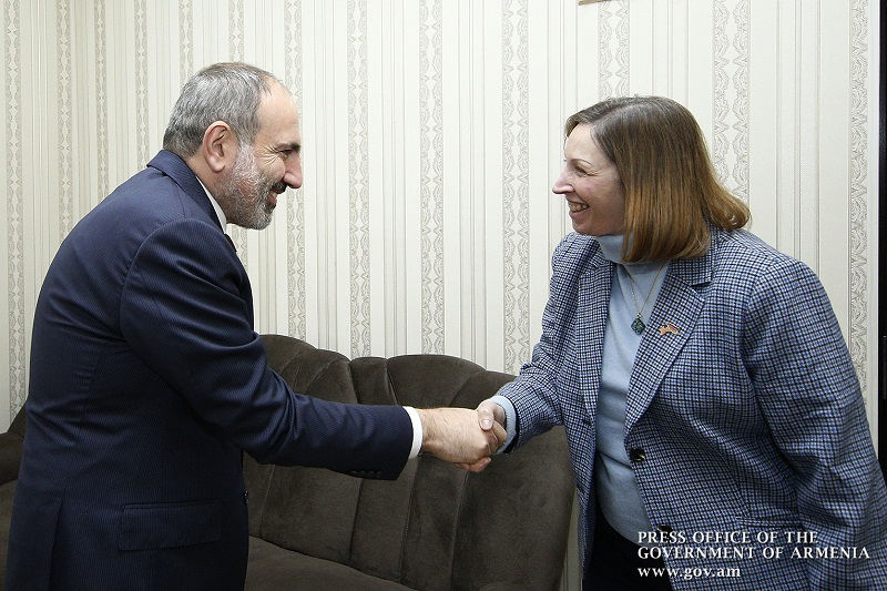 Վարչապետը ՀՀ-ում ԱՄՆ դեսպանի հետ քննարկել է պաշտպանության ոլորտում հայ-ամերիկյան համագործակցության հարցեր