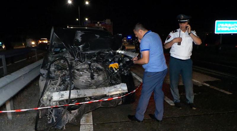 Բախվել են «Լեքսուս» և «ԳԱԶել» մակնիշի մեքենաներ. կա 13 վիրավոր (լուսանկարներ)