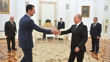 Ասադը ժամանել է Մոսկվա և բանակցություններ վարել ՌԴ նախագահ Վլադիմիր Պուտինի հետ