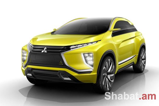 Mitsubishi-ն ցուցադրել է eX էլեկտրական քրոսովերը