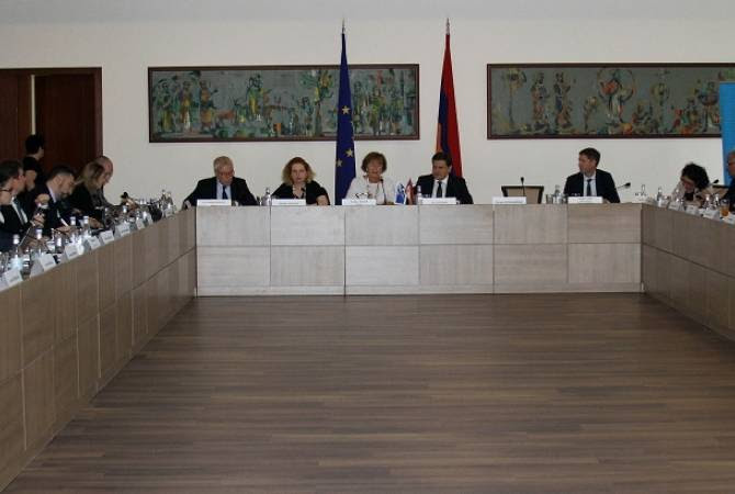 ԱԳՆ-ում տեղի է ունեցել Հայաստան-Եվրոպայի խորհուրդ Գործողությունների ծրագրի միջգերատեսչական կոմիտեի նիստը