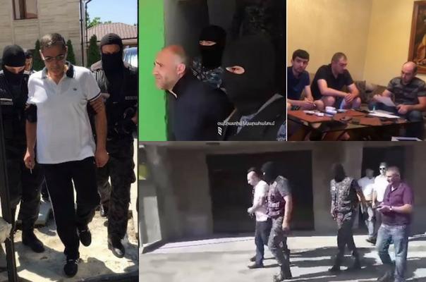 Ոստիկանները խուզարկել են «օրենքով գողերի» և քրեական հեղինակությունների բնակարաններ, հայտնաբերել են զենք-զինամթերք, թմրամիջոցներ (տեսանյութ)