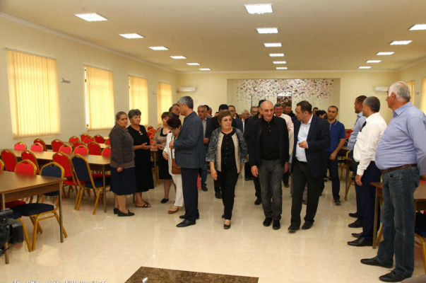 Բակո Սահակյանը Թալիշ գյուղում մասնակցել է «Թալիշի վերածնունդ» նախագծի մեկնարկի հանդիսավոր արարողությանը