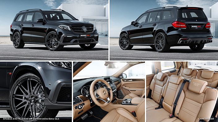 Brabus-ի տպավորիչ վերամշակմամբ Mercedes-Benz ամենագնացը ավտոշոուի աստղ է դարձել (լուսանկարներ)