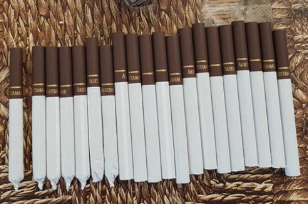 «Արթիկ» ՔԿՀ տարված հանձնուքի մեջ առկա ծխախոտատուփի գլանակները  լցոնված են եղել ոչ գործարանային, յուրահատուկ սուր հոտով հումքով. ԱՆ ՔԿԾ