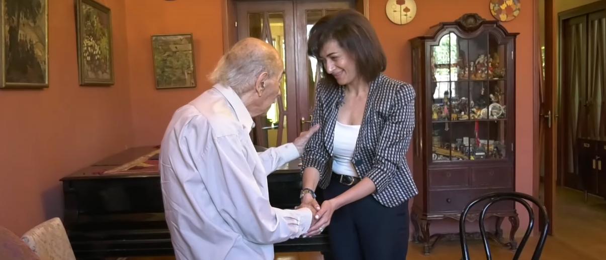 Աննա Հակոբյանը տեսակցել է հայտնի կոմպոզիտոր Վլադիլեն Բալյանին (տեսանյութ)