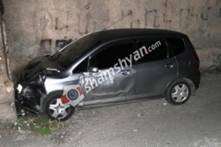 Ավտովթար Երևանում. 33-ամյա Honda-ի ոչ սթափ վիճակում գտնվող վարորդը բախվել է անհայտ մակնիշի և համարանիշի ավտոմեքենային. կա վիրավոր
