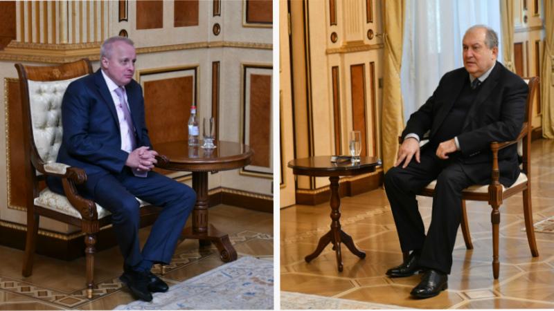 Արմեն Սարգսյանն հանդիպում է ունեցել ՀՀ-ում ՌԴ արտակարգ և լիազոր դեսպանի հետ