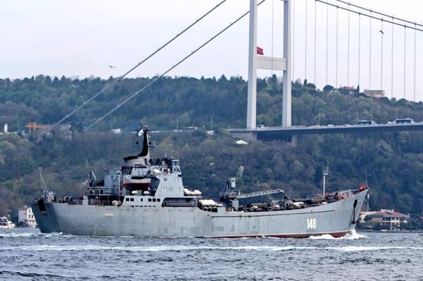 Ռուսաստանը զրահատեխնիկայով բեռնավորված նավ է ուղարկել Սիրիա