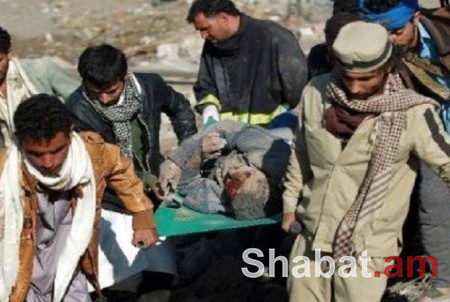 Արաբական դաշինքի ռմբակոծությունից Եմենում 60-ից ավելի մարդ է տուժել