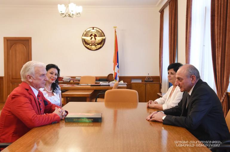 Ռուսաստանի Պարի միության նախագահն Արցախում է