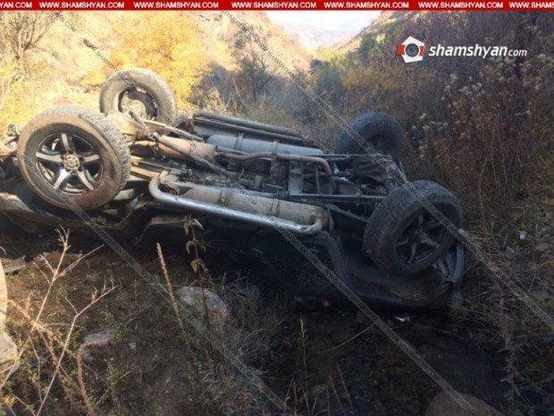 Ագարակաձոր գյուղում «ՈւԱԶ»-ը գլորվել է ձորը. 19-ամյա վարորդը մահացել է
