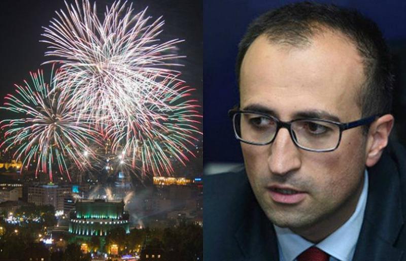 Պետք է հասնել նրան, որ հրավառությունը թույլատրվի միայն պետական տոներին. Արսեն Թորոսյան