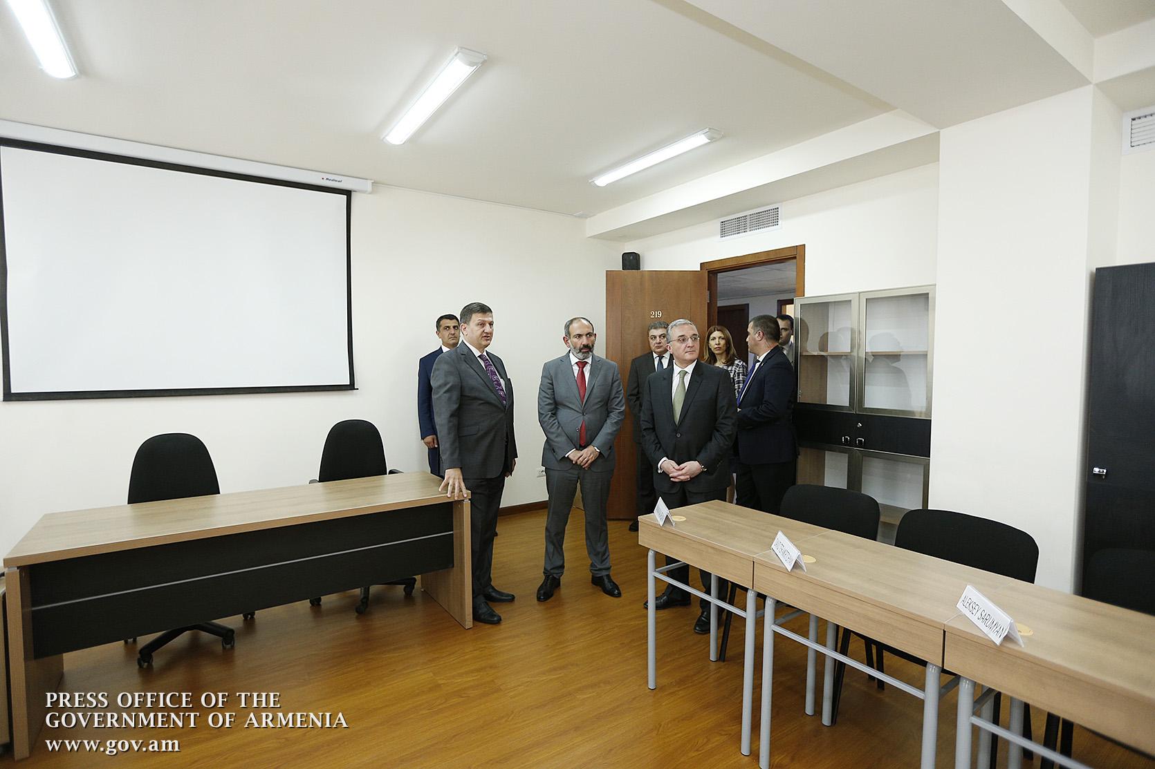 Վարչապետը ներկա է գտնվել Հայաստանի դիվանագիտության պատմությունը ներկայացնող կայքէջի շնորհանդեսին