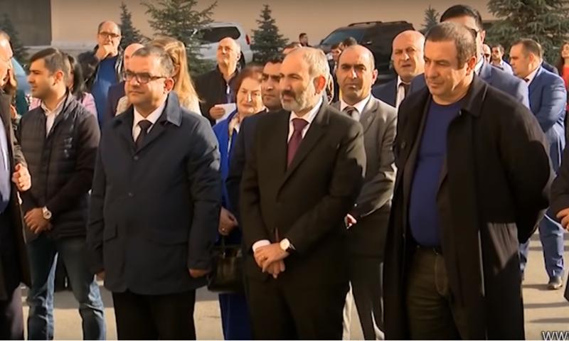 Ն.Փաշինյանի և Գ.Ծառուկյանի մասնակցությամբ բացվեց սպասքի արտադրության հայ-իտալական գործարան