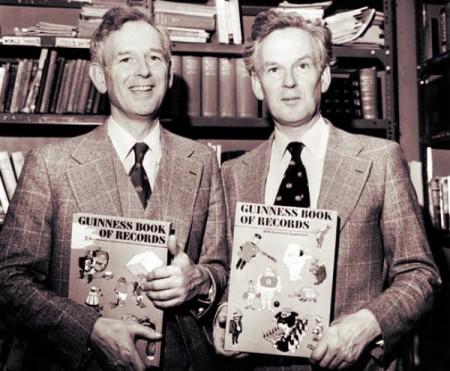 Ովքե՞ր են ստեղծել Գինեսի ռեկորդների գիրքը