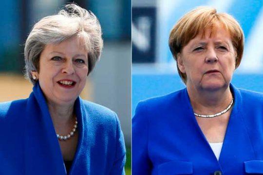 ԶԼՄ–ները նշել են Մերկելի և Մեյի միևնույն ոճի հագուստի մասին՝ ՆԱՏՕ–ի գագաթնաժողովին
