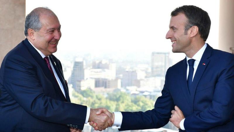 Ֆրանսիան ձեր կողքին է՝ նպաստելու ձեր տնտեսության նոր վերելքին. Էմանուել Մակրոնը շնորհավորել է Արմեն Սարգսյանին