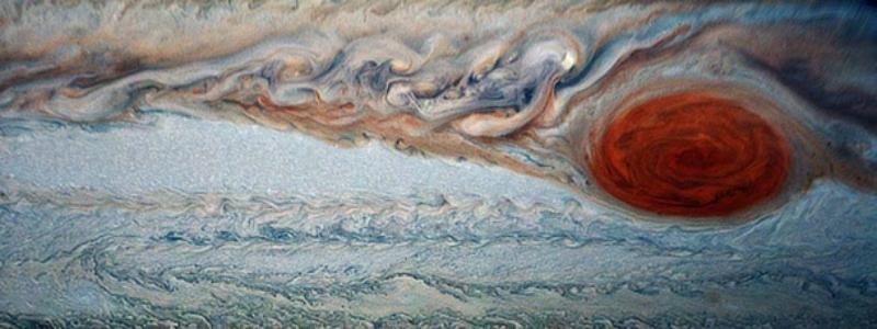 NASA-ն հրապարակել է Յուպիտերի վրա կարմիր մեծ «բծի» նոր լուսանկարները