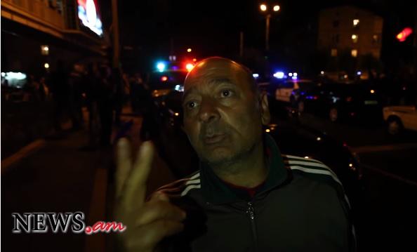 Էնքան ուժեղ պայթյուն էր` աթոռից ընկա. Հալաբյան փողոցում ականատեսը երկու պայթյուն է լսել. տեսանյութ