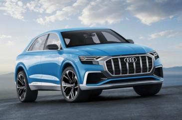 Դետրոյթի ավտոսրահում ներկայացվել է նոր 2018 Audi Q8-ը